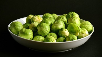 brussels-sprouts-wholesale vegetables on a plate